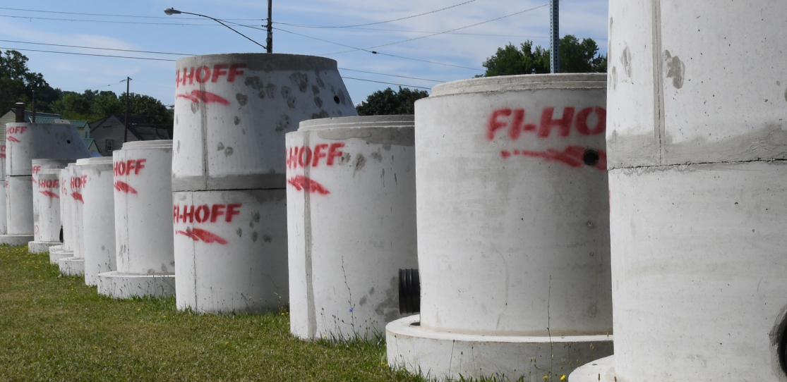 UTILITY STRUCTURES – Fi-Hoff Concrete Products, Inc
